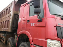 Used Howo Dump Truck 25T 40T to 70T in shanghai Original spare parts dump truck howo
