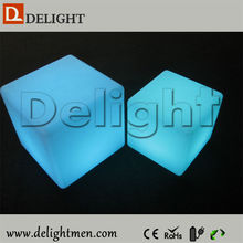 LED furniture hot sale RGB color changing outdoor illuminated rechargeable mobile chairs for tv room in living room