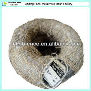 Bwg 22 # fio de ferro galvanizado 5 kg por rolo