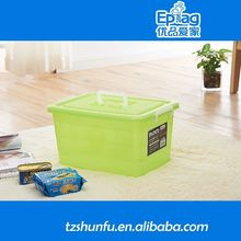 2015 small round micro container,plastic container for cuticle trimmer,kitchen storage box