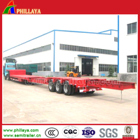 16-45M Wind Blade Transport 20-60 Tons Lowbed Hydraulic Trailer Axle With 2-4 Optional