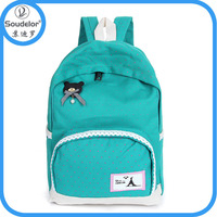 Unique Design Factory Made Cheap Professionl fashion cute backpack bag for teens backpack canvas
