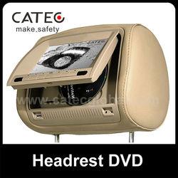 citroen c4 headrest dvd player
