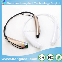 hbs 750 earphone newest neck back sports bluetooth wireless with mic for cellphone