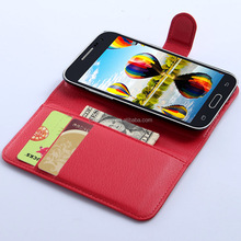 Wallet PU Leather Cell Mobile Phone Case for Galaxy Core Prime G3608
