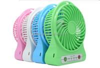 Promotional mini usb fan with strong wind, rechargeable fan, portable mini fan