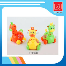 New mini toy wind up animals plastic giraffe toy wind up toy for kids D198637