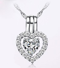 Wholesale Special Elegant Cz Cubic Zircon Quality Fashion Necklace FN10090