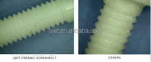 zirconia screw and nut