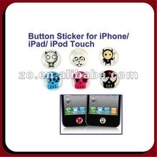 button sticker for iphone