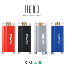 Free samples electronic cigarette manufacturer from China, Nexcii Hero 30w 0.69inch OLED screen ecig box mod
