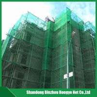 hdpe mono Hongye construction scaffold plastic safety net