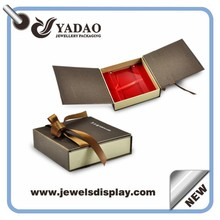 Wholesale fashion jewelry packing cases ,paper jewelry boxes , paper storage chests for jewelry shop party favors made in China