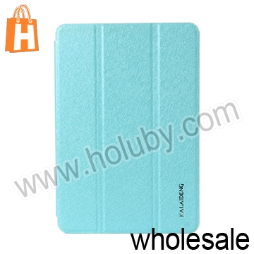 High Fashion KLD Iceland Series Tri-fold Sleep Wake up Function Flip Leather Case for iPad Mini 2 Retina Case