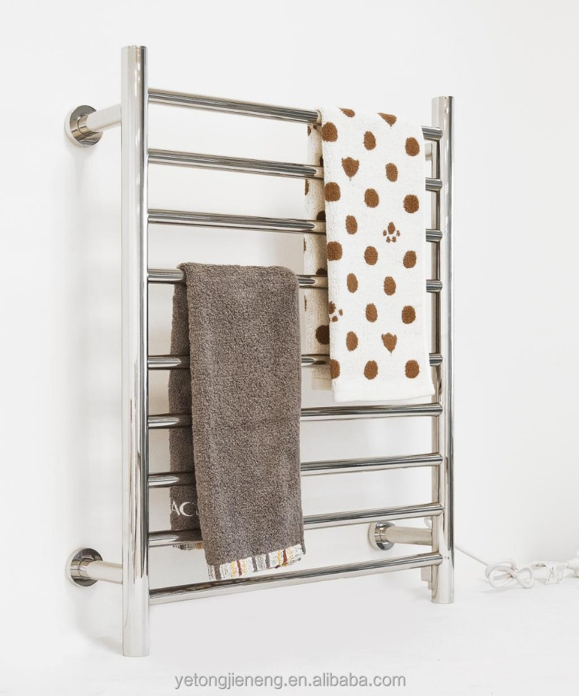 Stainless Steel Electric Wall Mounted Towel Warmer Heated Towel Rail Ra