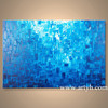 Wholesale Home Accessories, Modern Blue Abstract Oil Painting