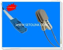 Animal Use Reusable 8Pin SPO2 Sensor for Datex Ohmeda TruSat to Cats/Pigs/Dogs/Horses