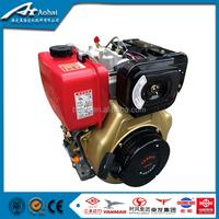 10 Hp Single cylinder air cooled diesel engine 186F