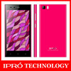 IPRO 5 Inch MTK6582V/X Quad Core 1.3G Mobile Phone Android 4.4.2 WCDMA celulares 8MP Dual SIM smartphone Cell Phone