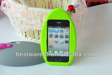 New Egg shape Silicone mobile phone case, silicone rubber cover