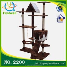 High quality pet cat tree house top sale cat agility training products