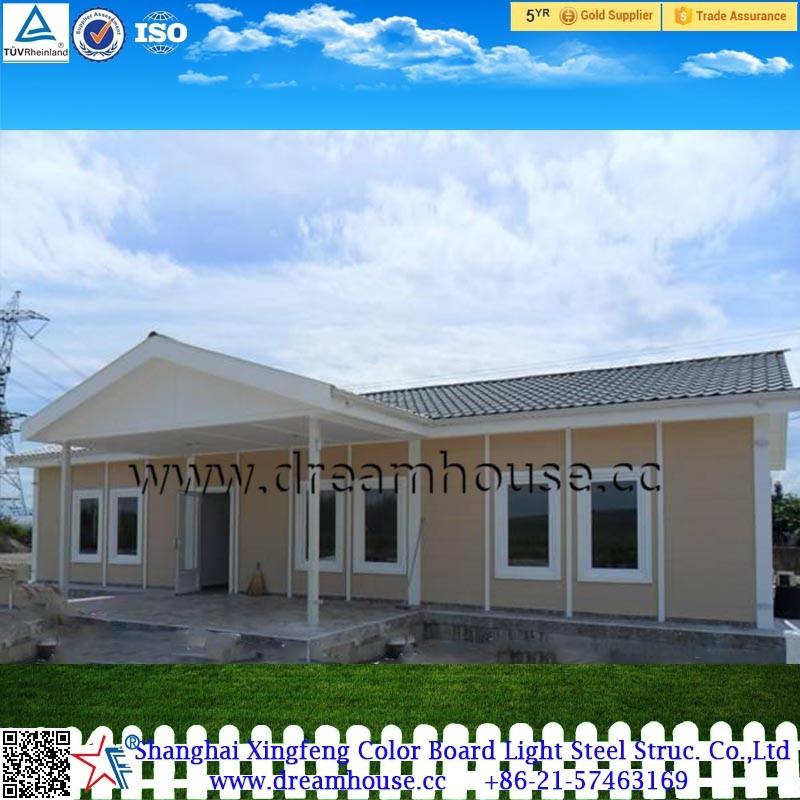 Luxus fertighaus villa  Fertig villa luxus fertig leichte stahl villa/fertighäuser ...