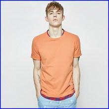 wholesale cotton polyester high quality plain no brand t-shirt for men