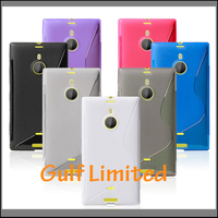 S line back cover case TPU case for Nokia Lumia 1520
