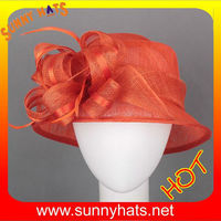 Orange make church hats