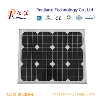 High Quality OEM 50W PV Mono Solar Panel