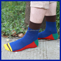 2015 hot breathable Custom turn cuff floor socks home socks factory Type Fashion new products made in china