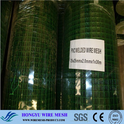 Anping high quality low price 25x25 PVC welded wire mesh