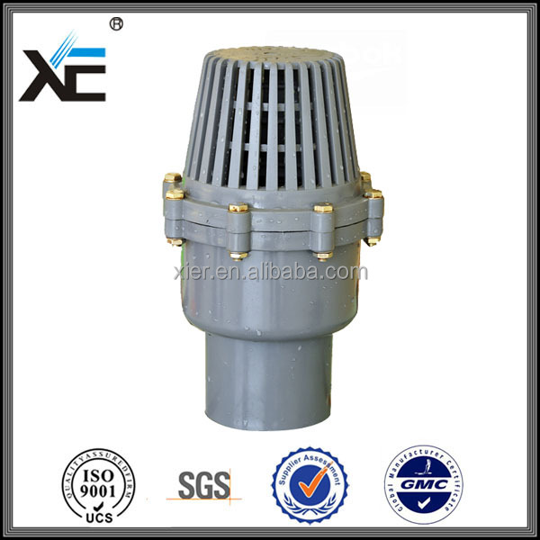 Quot xe plastic pvc foot valve for agriculture buy