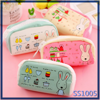 Hot selling cute school stationary pencil case for teenagers wholesale fancy pencil case
