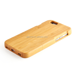 wholesale price Hot sale synthetic slim wood bamboo hard case cover for iPhone 5/5s