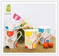 Colored Coffee Cups Porcelain for Promotion