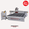 Cylinder drive Z axis double head cnc router with ATC