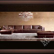 Top brand home furniture sofa leather italian design HD58 in guangzhou