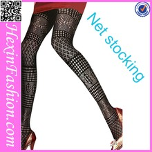 Popular Cheaper Net Full Body Black Stocking Girl