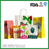 kraft paper bags manufactue for food industries, shopping, gift, airline industry