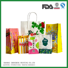 kraft paper bags wholesales for food industry, shopping industry and retail industry