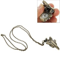 Promotional Gift Unisex Cartoon Long Chain Pocket watch Necklace Watch