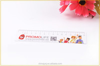30 centimeter Plastic rule with flower wholesale