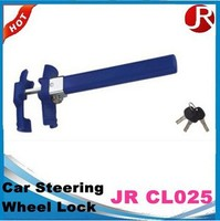 Factory price car steering wheel lock with plastic cover /anti theft steering wheel lock