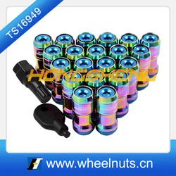 """M12 x 1.25mm Thread Pitch 1.8"""" Long Wheel Rim Lug Nuts"""