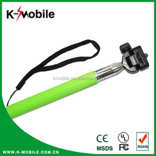Hot Selling Smartphone Accessories for Android and ISO System Self Timer Ponopod Stick with Cable