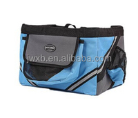 pet carrier bicycle basket black color 600D EVA material