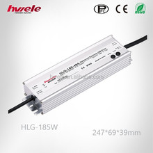 Similar to Mearwell LED driver HLG-185W PFC adjustable dimming power supply with KC CE ROHS apprvoed