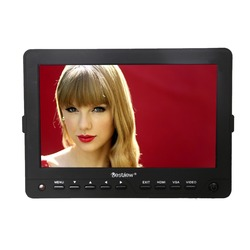 Bestview 1024*600 mini 7 inch battery powered lcd monitor with battery and magic arm included