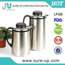 Classical PP handal SS body hot and cold water jug(JSUD)